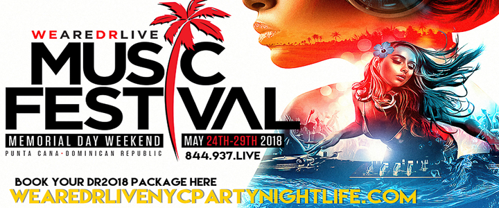 Music Festival Wearedrlive | NYC Night Life - Club Adverts